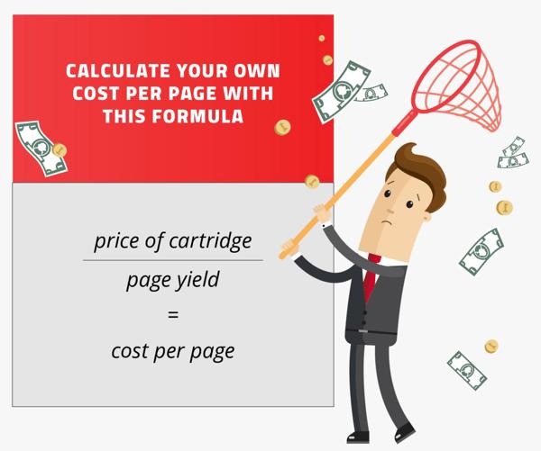 Cost per page