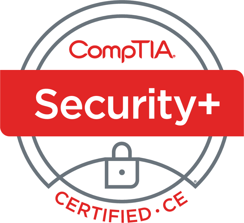SecurityPlus Logo Certified CE